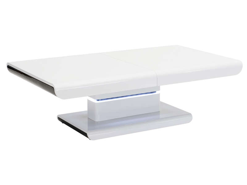 Table Basse Light Coloris Blanc Table Basse Conforama