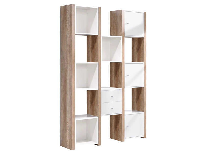 etagre 3 portes 2 tiroirs leader etagre conforama - Etagere Conforama