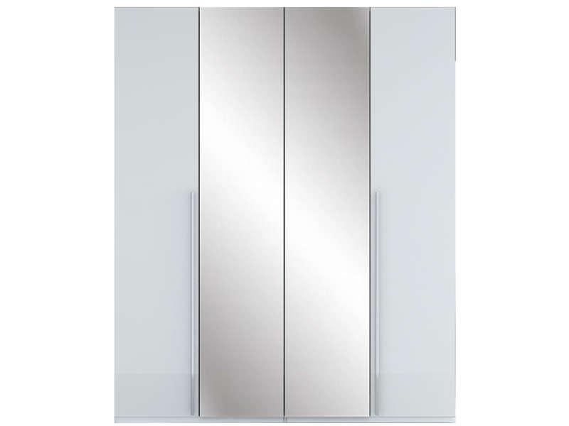 Armoire 4 portes CRYSTAL 2 - Armoire Conforama - Iziva.com