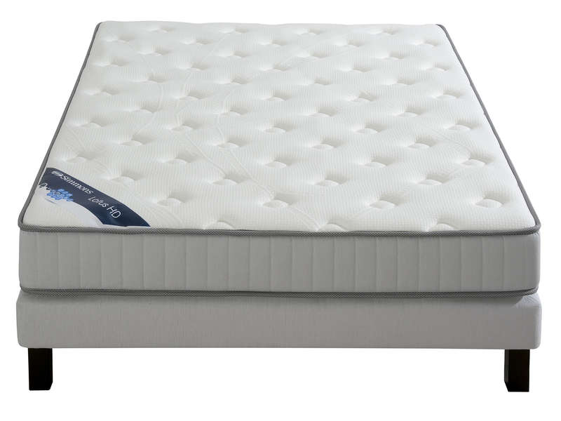 matelas ressorts 160x200 cm simmons lotus hd matelas conforama. Black Bedroom Furniture Sets. Home Design Ideas