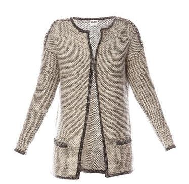 455ece4a6e9b Gilet gris Vero Moda - Gilet Femme Brandalley - Iziva.com