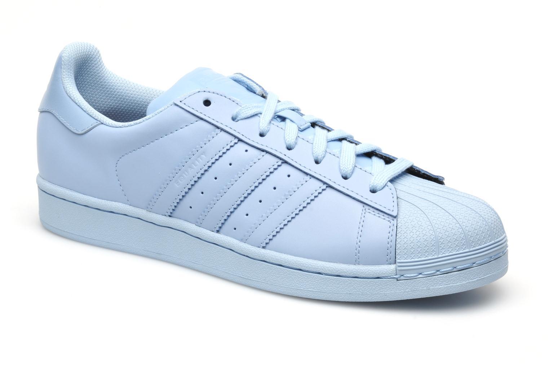 Adidas Originals Superstar Supercolor Bleu, Baskets Femme