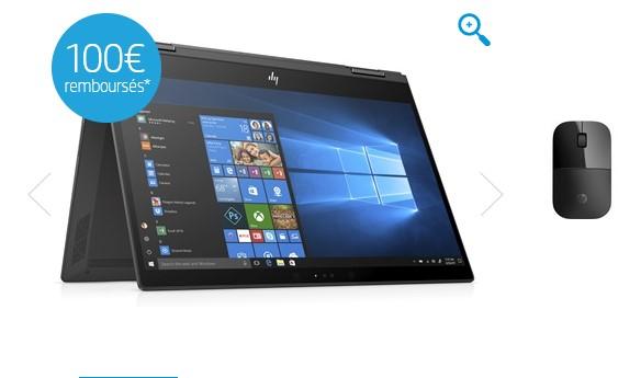 HP ENVY x360 13-ag0001nf Argent cendré foncé