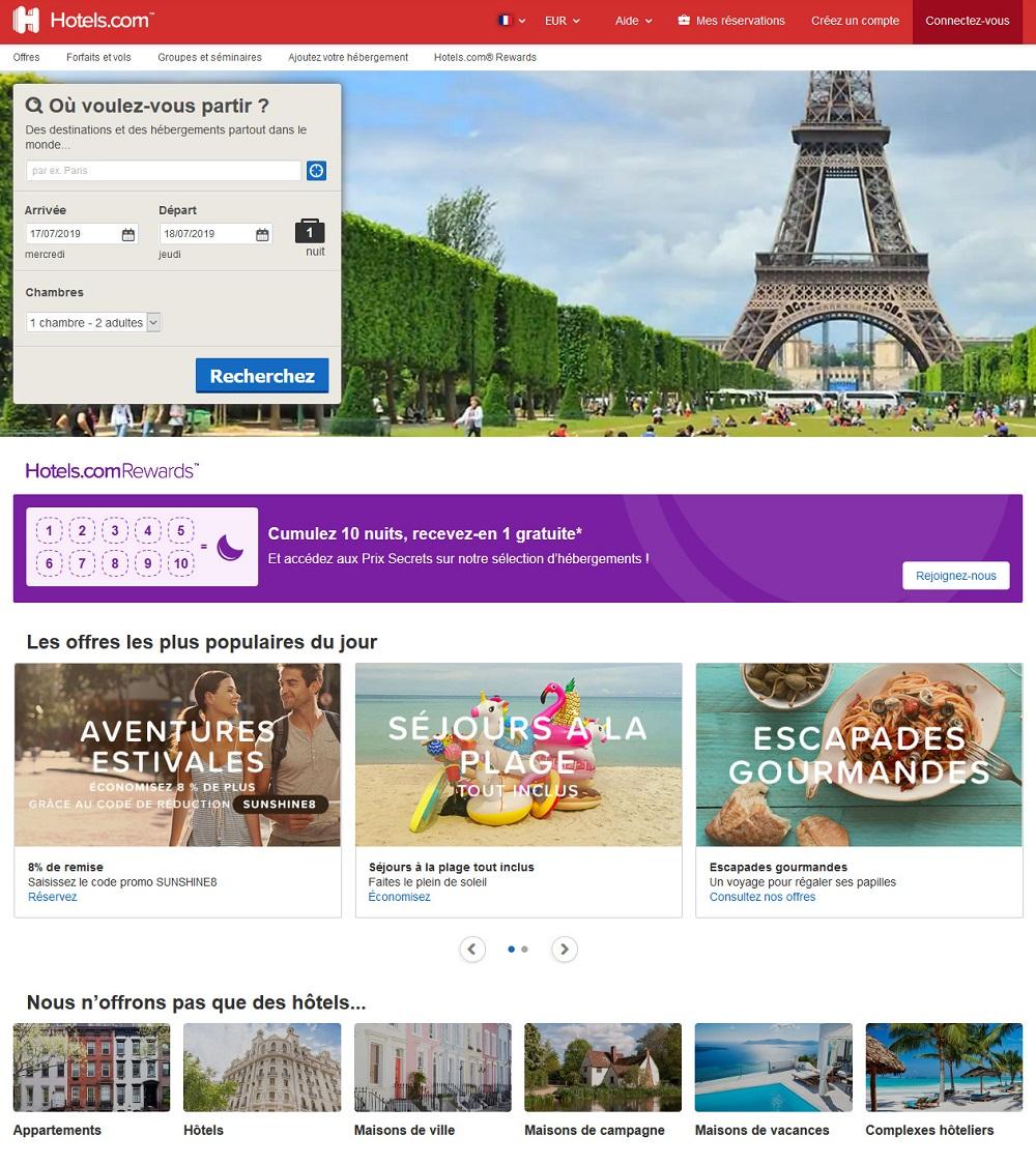 Hotels.com Reservation Hotel