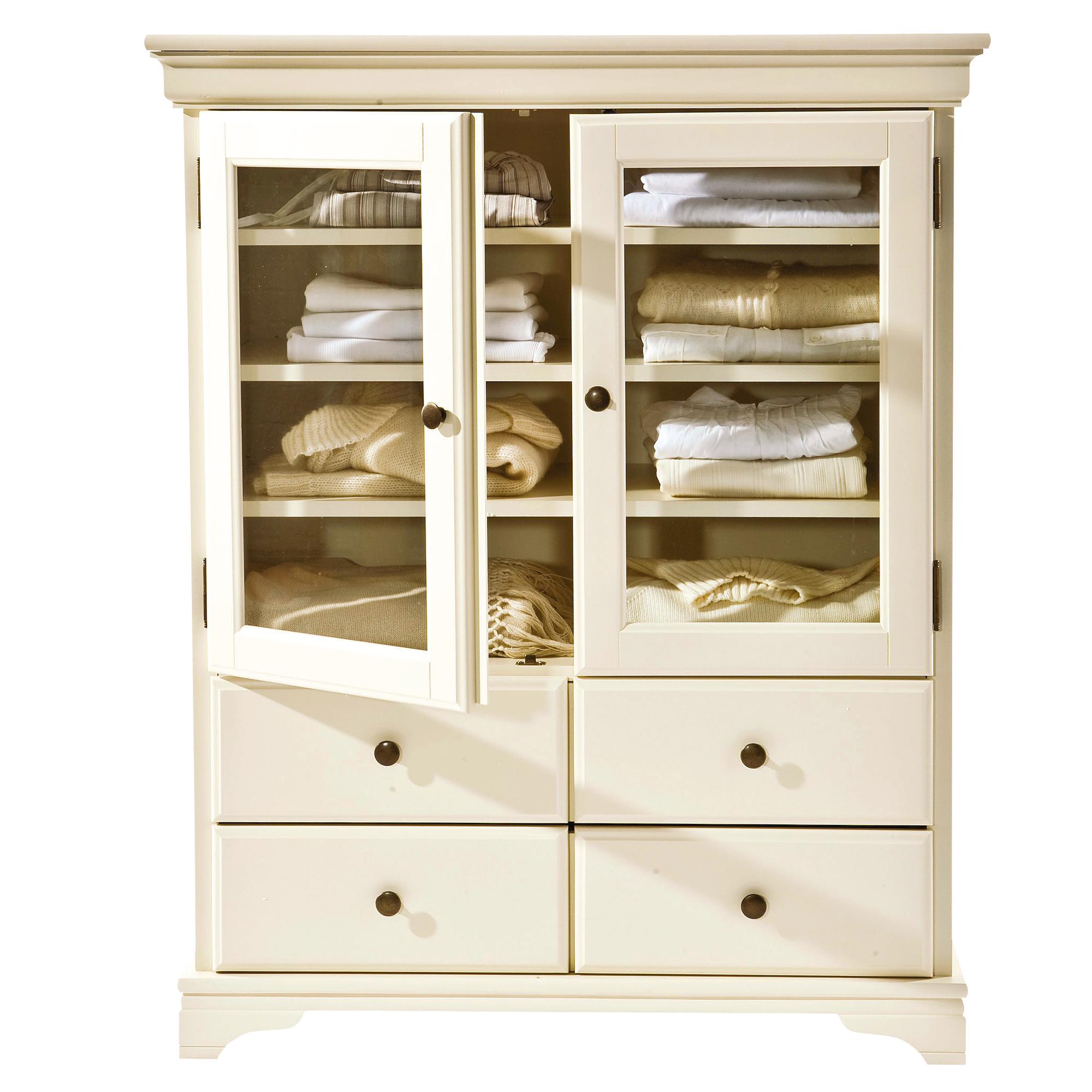 dressing la maison de valerie dressing 2 portes 2 tiroirs louis philippe. Black Bedroom Furniture Sets. Home Design Ideas