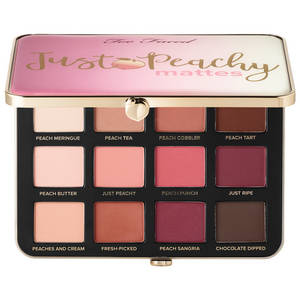 Just Peachy Matte Palette de fards à paupières de TOO FACED