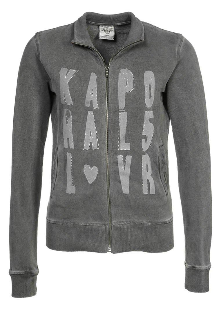 Sweat femme Zalando - Sweat zippé Kaporal gris  (Mode)  Zalando Sweat zippé  Kaporal gris Sweat femme Zalando, craquez sur les vetements Kaporal, ... 6a4131532303
