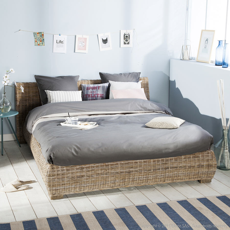 lit avec t te de lit kubu zago tress lit delamaison