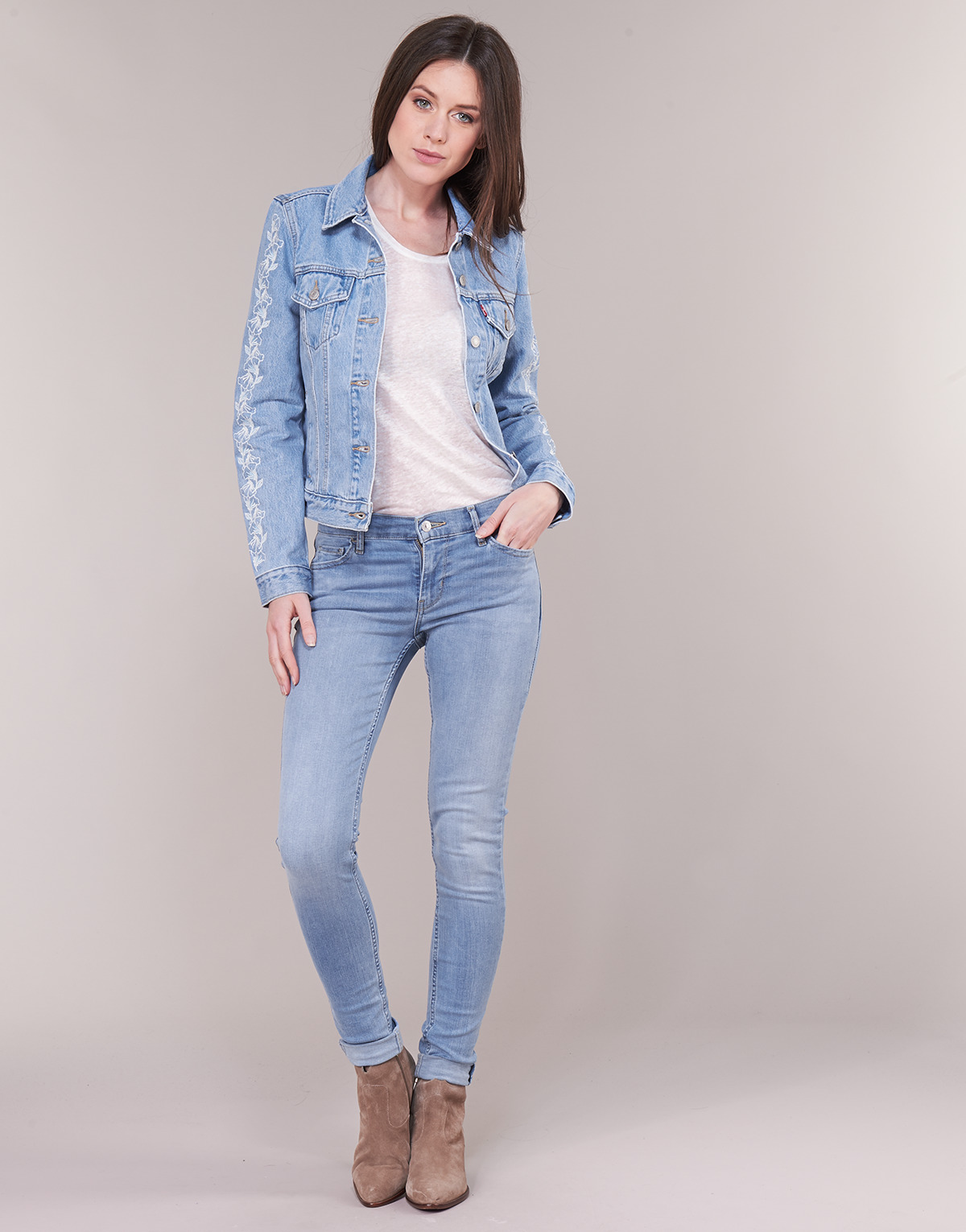 Levi's INNOVATION SUPER SKINNY Globe trotter