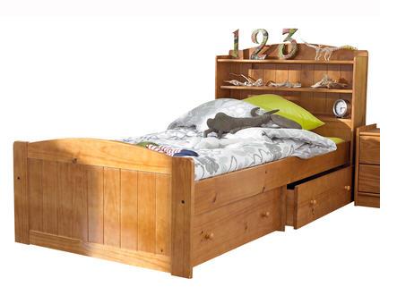 Lit la maison de valerie lit t te de lit tag res for La maison de valerie meubles