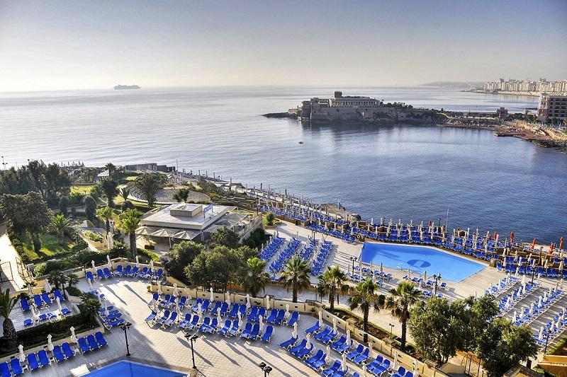 Hôtel Corinthia St George's Bay 5* TUI à Saint Julian sur l'Île de Malte