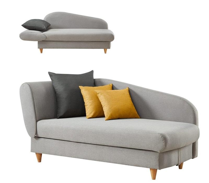 m ridienne convertible coffre lola tissu gris clair m ridienne but. Black Bedroom Furniture Sets. Home Design Ideas