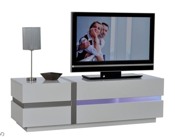 Meuble Tv Led Lumina Blanc Meuble Tv But Izivacom
