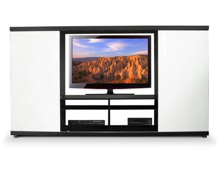 soldes meuble tv la maison de valerie meuble tv mpd302 blanc