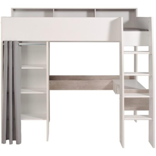 Mezzanine Taylor Blanc et gris