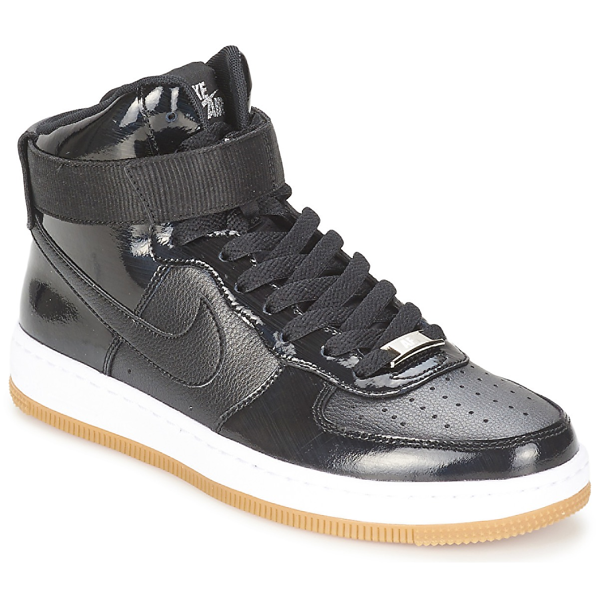 43b40a99c69693 Baskets montantes Nike AIR FORCE 1 AIRNESS MID - Baskets Femme Spartoo