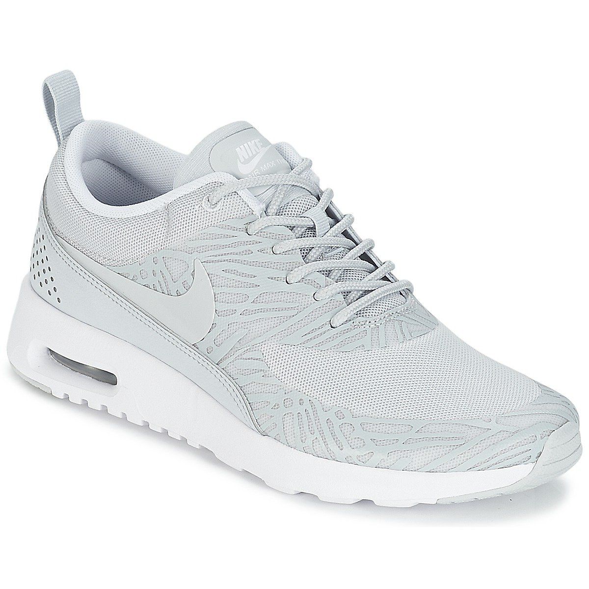 Baskets basses Nike AIR MAX THEA PRINT W Beige, Baskets