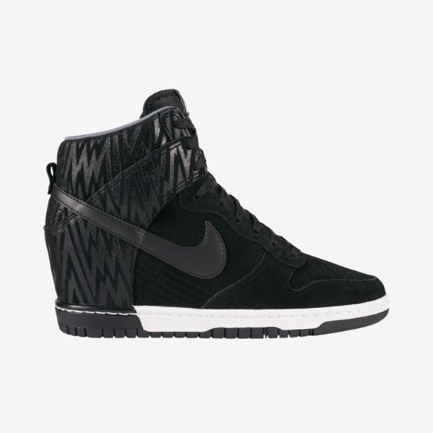 uk availability bc9bc 84ae7 Baskets compensées Dunk Sky Hi Nike - Baskets Femme Brandalley