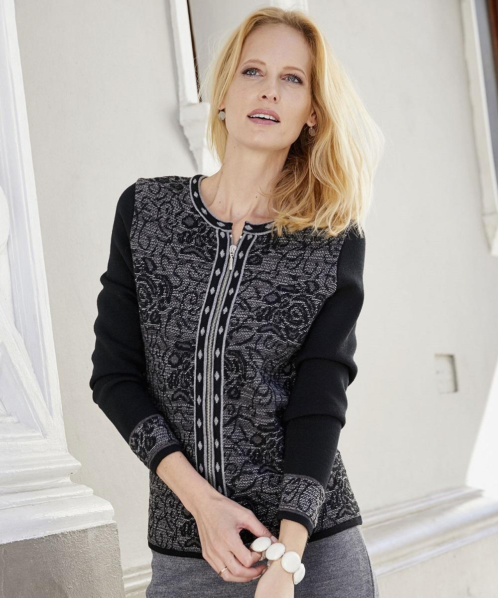 Manteau laine femme damart