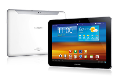 Tablette darty tablette tactile samsung galaxy tab 10.1 wifi 16go