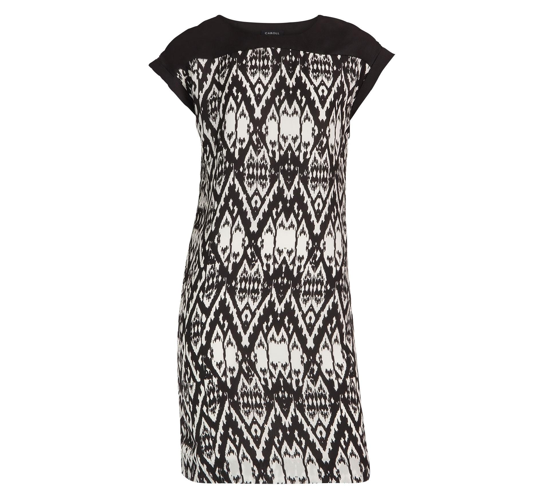 Robe Rafaela noir et blanc Caroll - Robe Femme Brandalley - Iziva.com e2a64b5c8d1