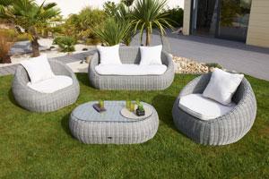 Salon de jardin ISA Sur Iziva - Iziva.com