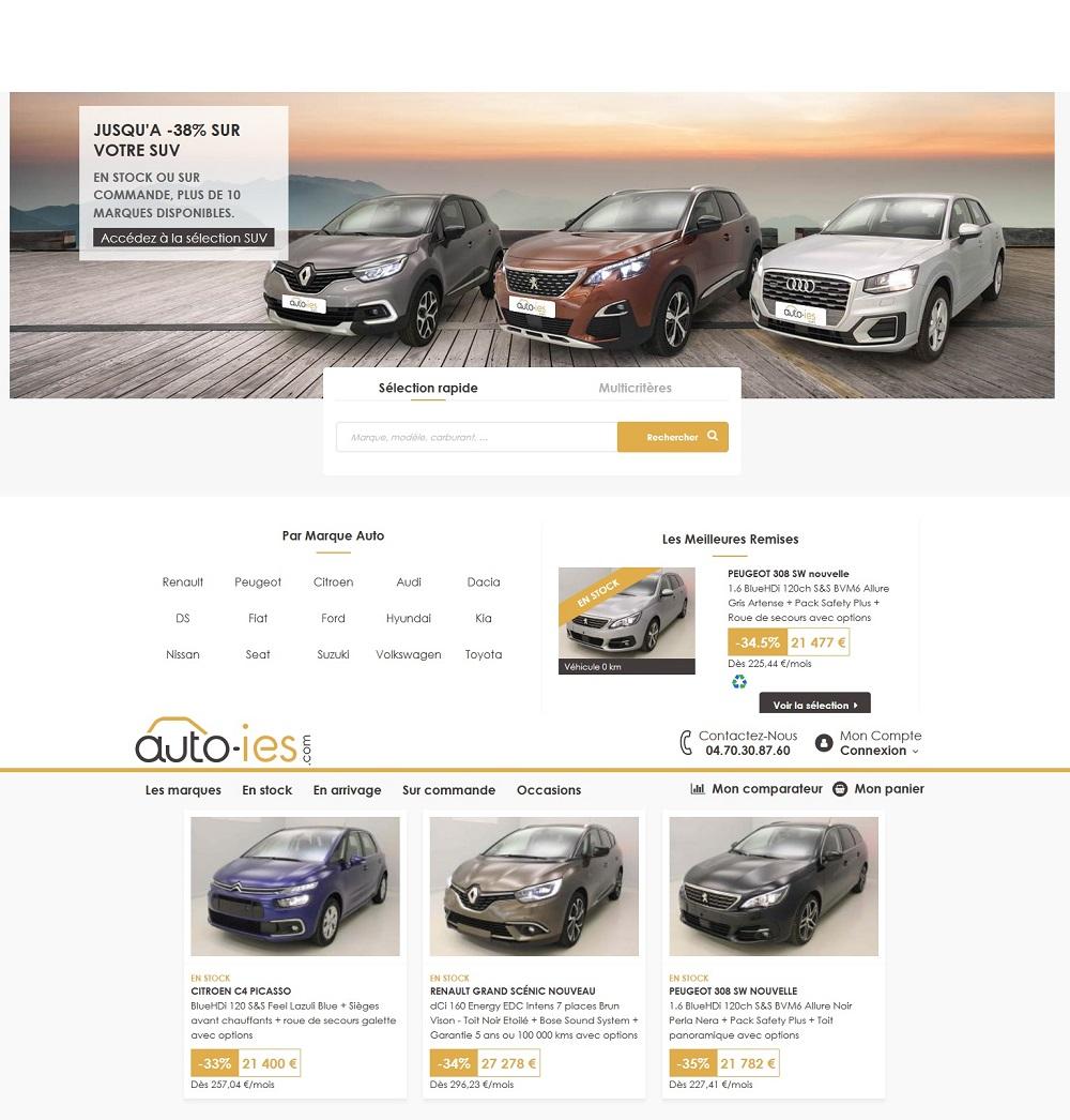 Auto-IES achat auto neuve moins chère