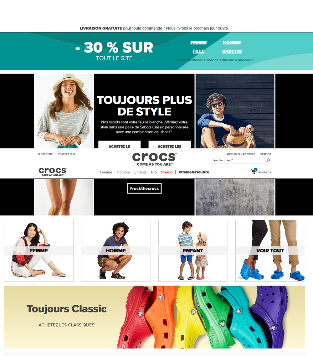 Crocs France - Chaussures Crocs - Crocs Work Crocs Rx, Sandales