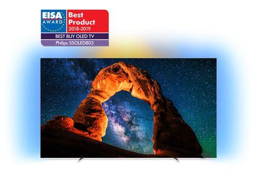 Black Friday FNAC Téléviseur OLED - TV Philips 55OLED803 OLED UHD 4K pas cher