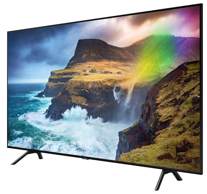 TV Samsung 55Q70R QLED 4K 140 cm