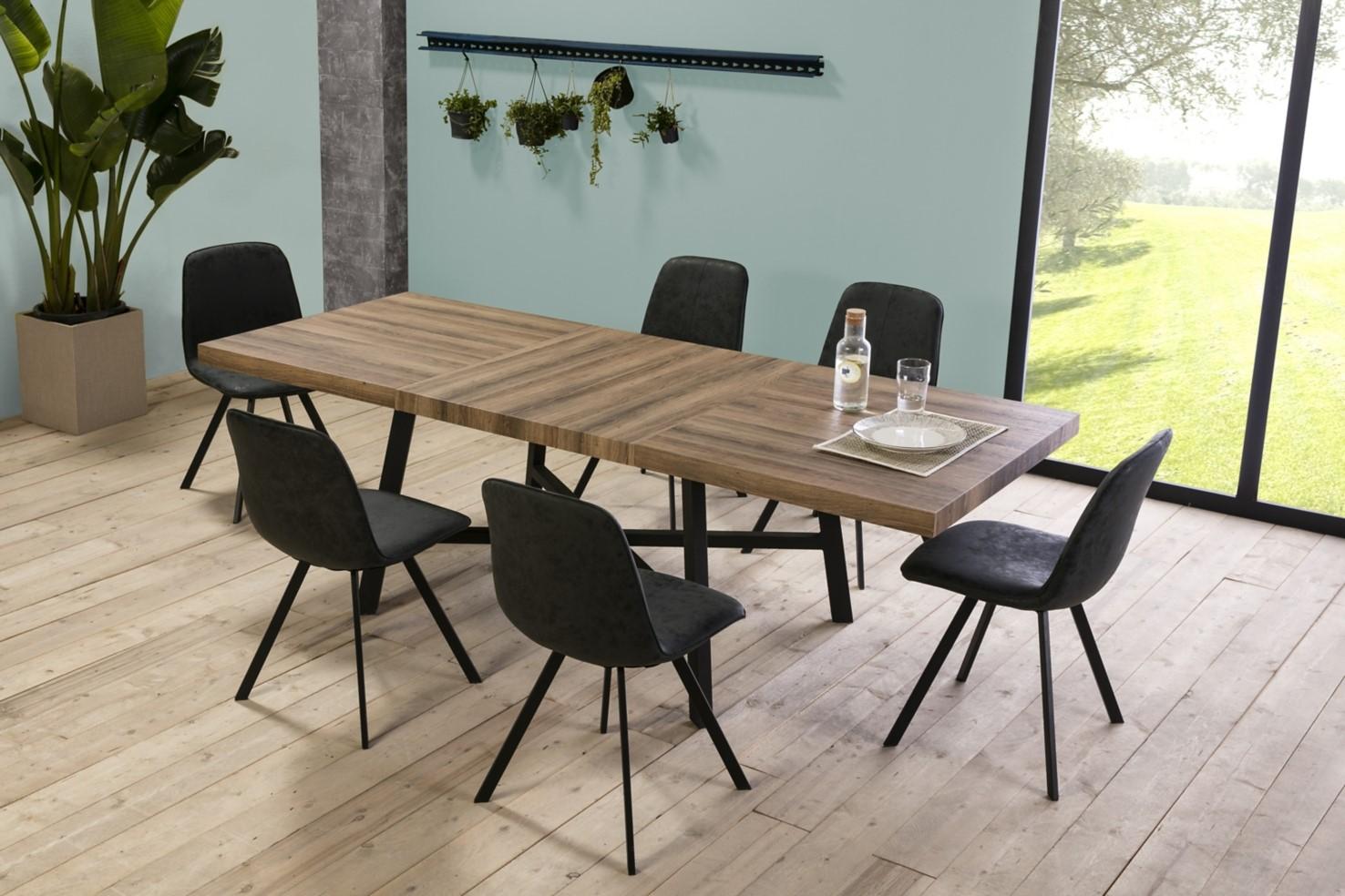 Table De Séjour Extensible Libra Pas Cher Table But