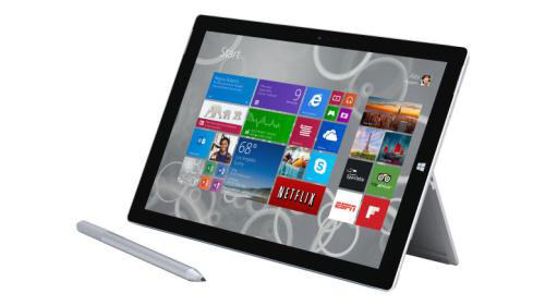 "Tablette Microsoft Surface Pro 3 12"" 64 Go"