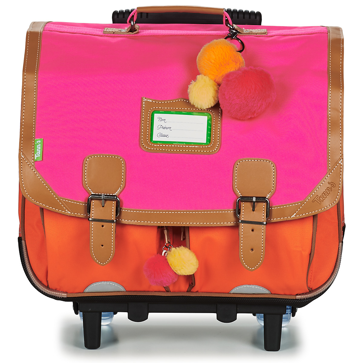 Tann's FRIDA TROLLEY CARTABLE Rose / Orange