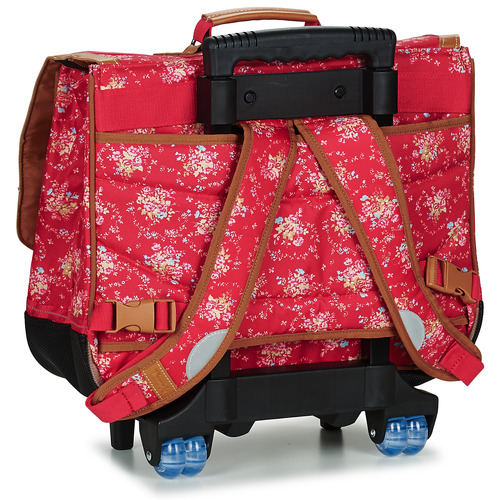Tann's LONDON TROLLEY CARTABLE Rouge