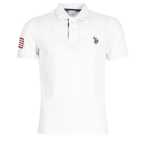 U.S Polo Assn. MATEU USA POLO Blanc pour Homme