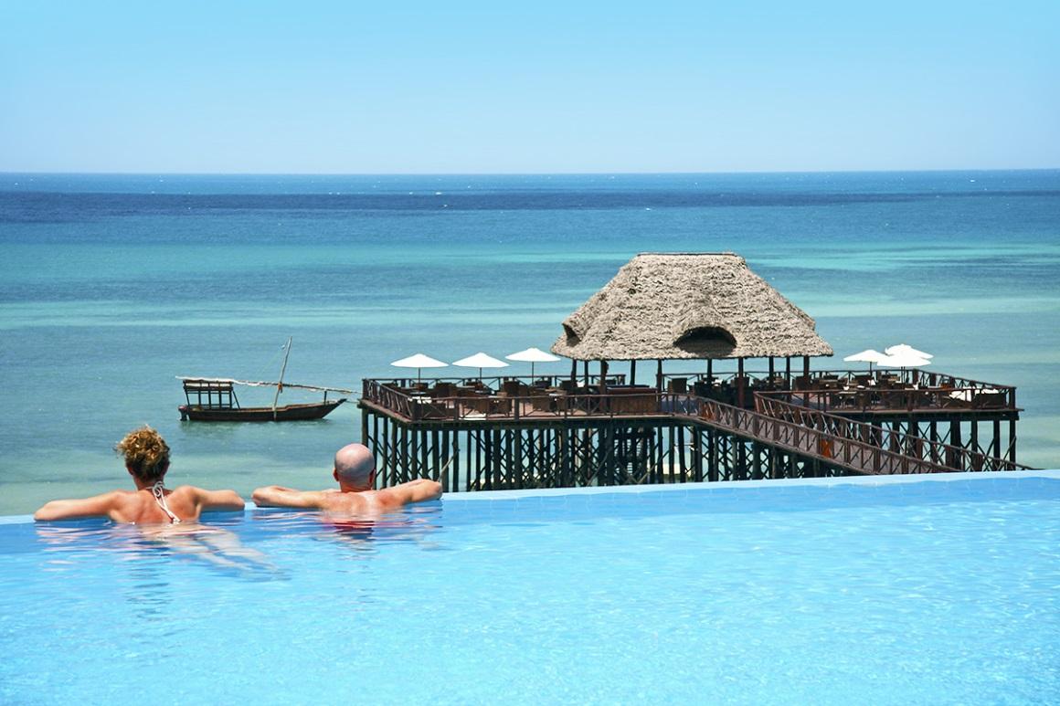 Hôtel Sea Cliff Resort & Spa 5* TUI à Kiwengwa à Zanzibar