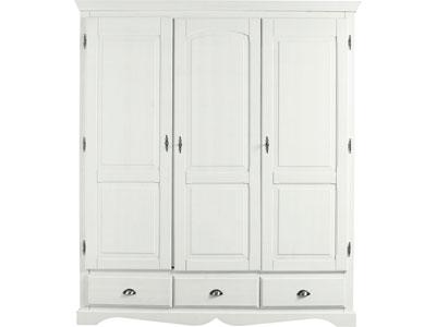 Armoire conforama armoire 3 portes en pin massif yuca prix 579 00 euros - Armoire enfant conforama ...
