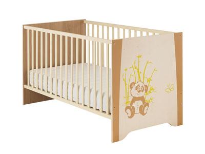 Lit Bébé Conforama, Lit bébé 70x140 cm Kylan Coloris beige ...