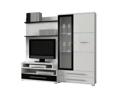 meuble tv conforama ensemble paroi murale great. Black Bedroom Furniture Sets. Home Design Ideas