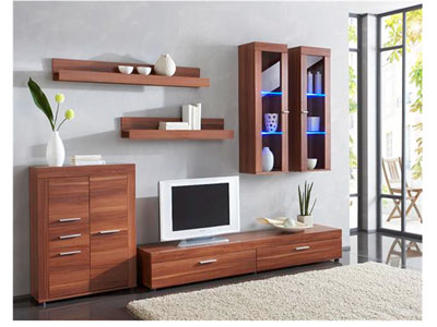 meuble tv conforama ensemble meuble tv 6 pi ces. Black Bedroom Furniture Sets. Home Design Ideas