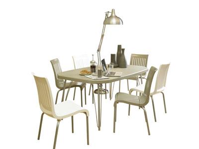 Ensemble table + 6 chaises - Salon de Jardin Conforama ...