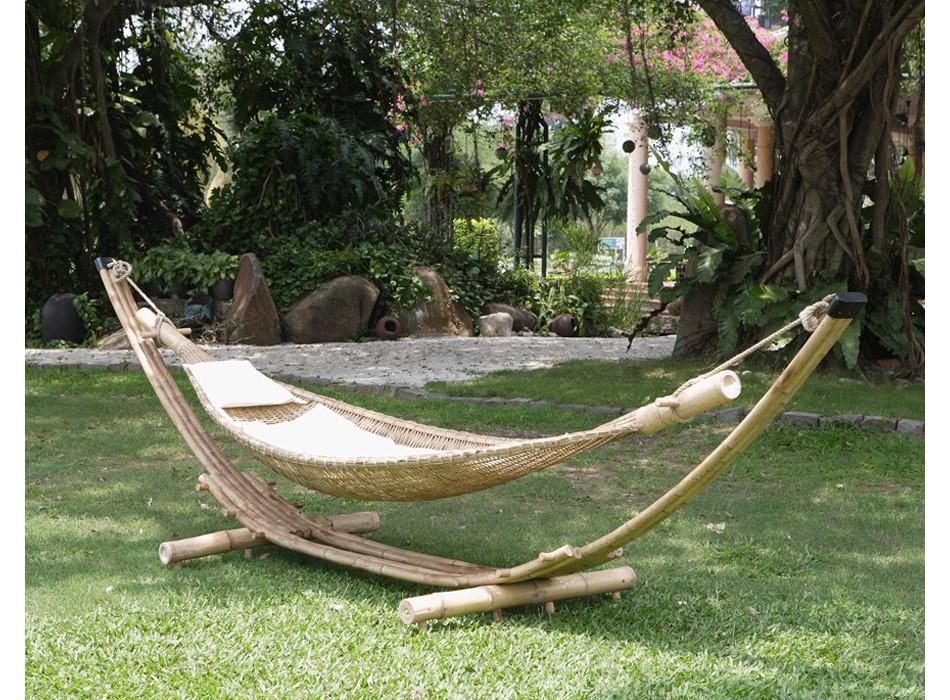 promo hamac vente unique hamac robinson en bambou prix 249 00 euros. Black Bedroom Furniture Sets. Home Design Ideas