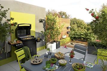 Salon de jardin Monceau FERMOB en fer, Salon de jardin Leroy Merlin ...