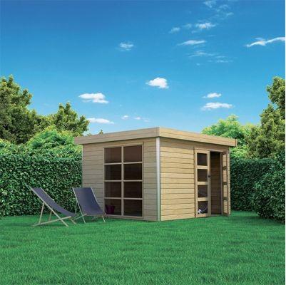 Abri de jardin bois Lindo L Blooma 10,2 m² pas cher - Abri ...