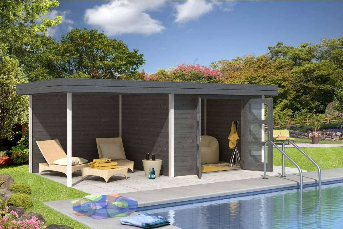 Abri de jardin bois CHATEL5 13.40m² pas cher - Abri de jardin Auchan ... 51f1794f37fd