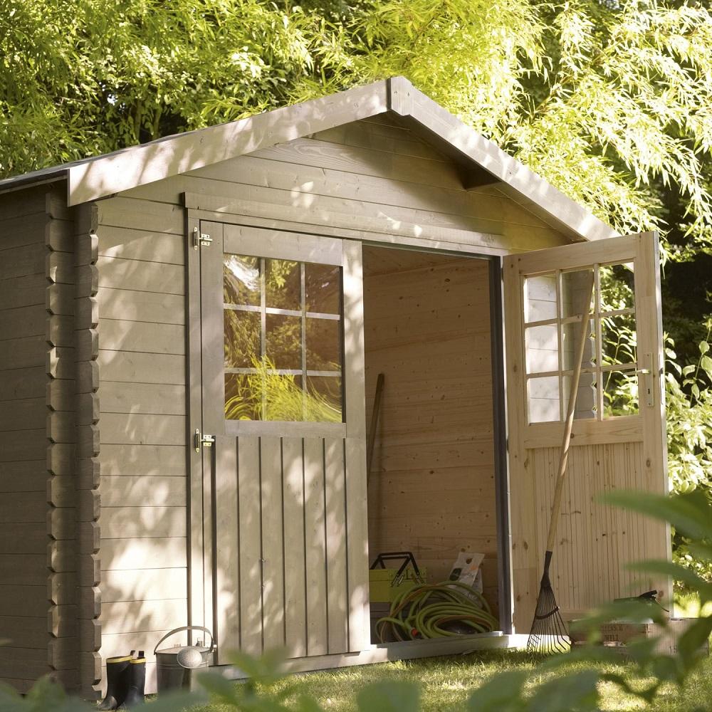 Abri de jardin bois Flore 5.39 m² - Abri de jardin Leroy Merlin ...