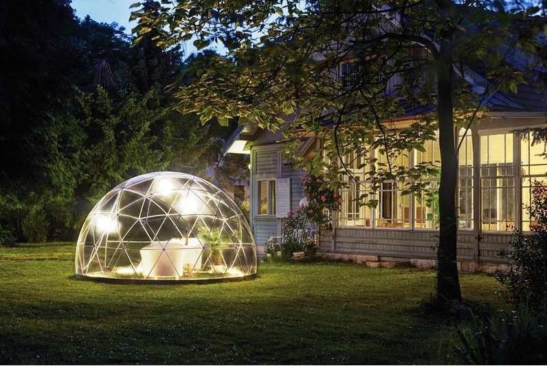 Stunning cabane de jardin igloo gallery for Cabanon jardin pvc