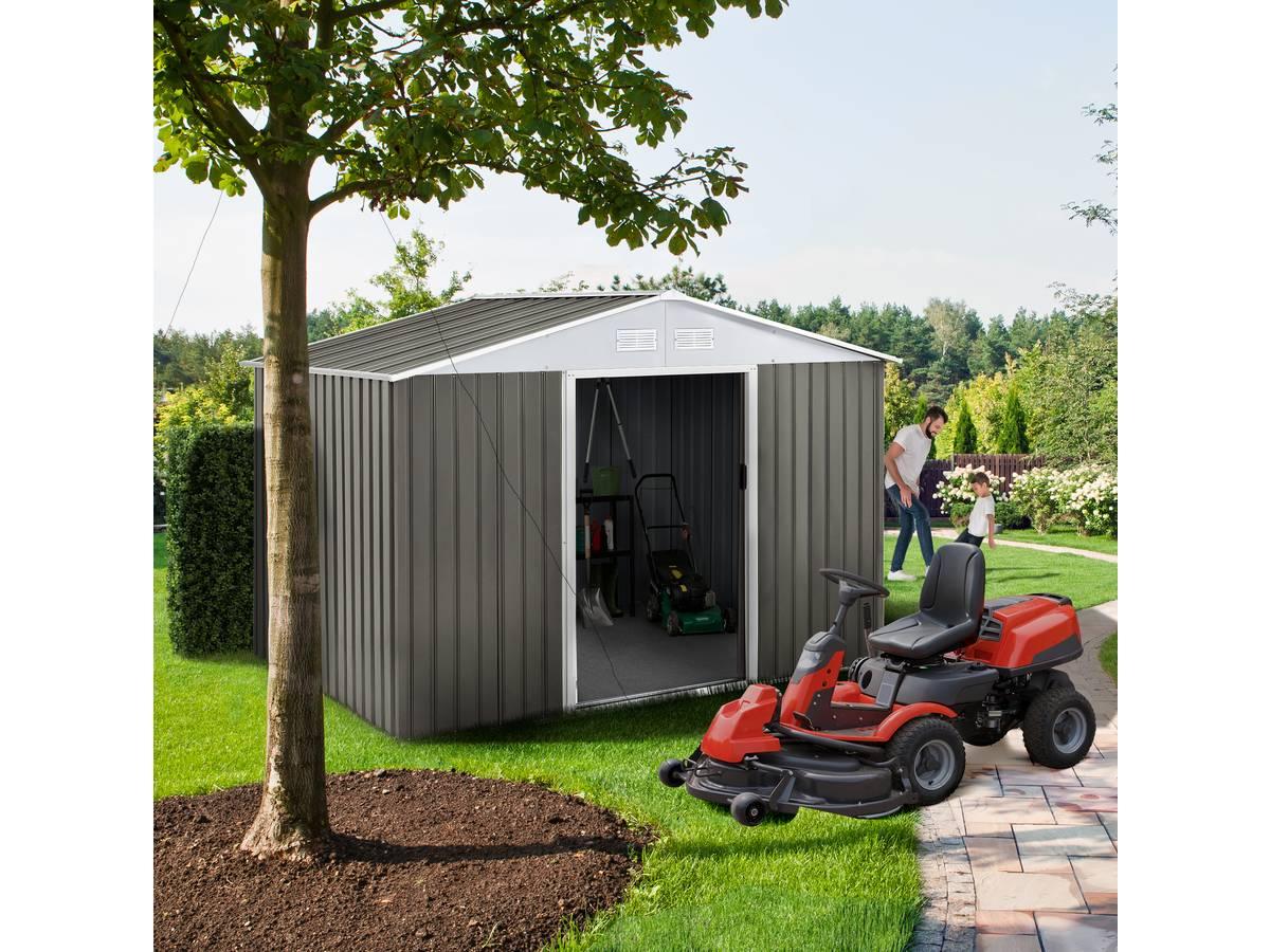 Abri Vélo Pas Cher abri jardin metal dallas 5,29 m² pas cher - abri de jardin