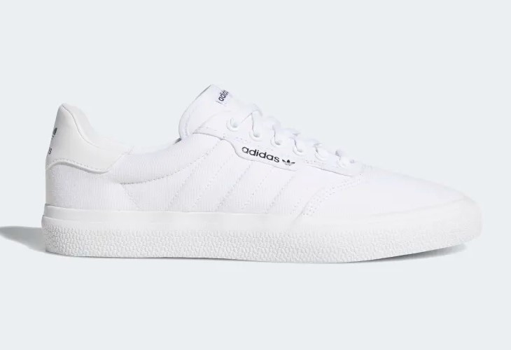 Adidas Originals 3MC Baskets basses blanches