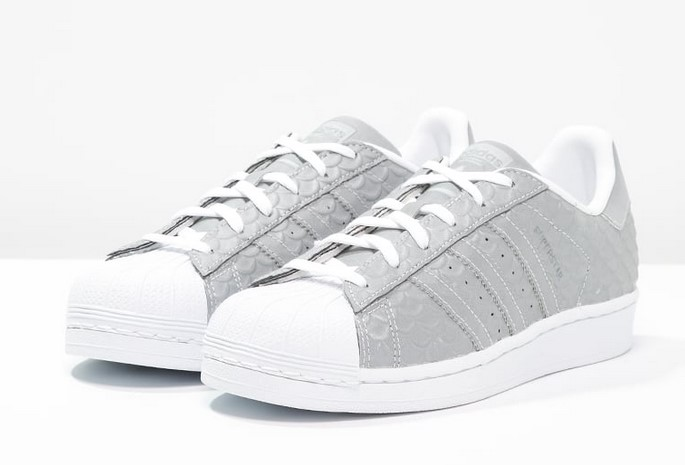 Adidas Originals SUPERSTAR Baskets basses silver metallic ...